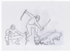 image of hunters of VeX